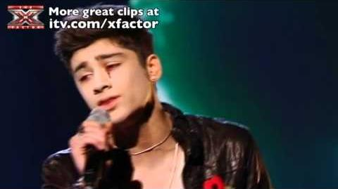 One Direction sing Total Eclipse of the Heart - The X Factor Live show 4 - itv