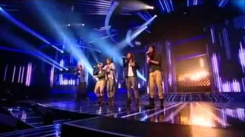 One Direction - X-Factor week 2 -My Life Would Suck Without You