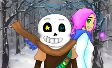 MusicTale Pink Haired Monkey and Artist Skeleton Clone