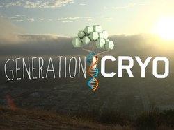 Generation Cryo title screen