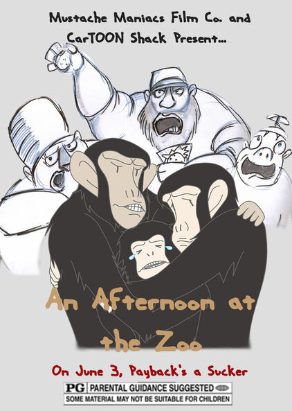 Afternoon at the Zoo Poster