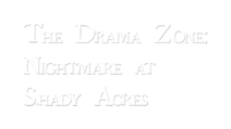 Nightmare at Shady Acres Title Treatment