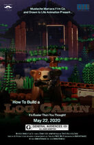 How To Build A Log Cabin Poster