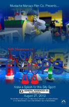 Seth Masterson vs Shark Hoops Poster