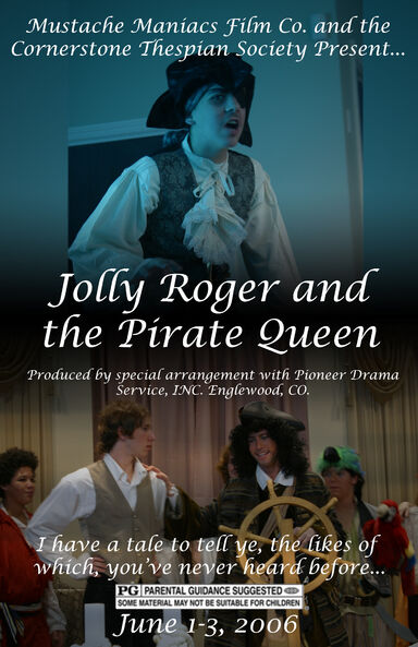 Jolly Roger and the Pirate Queen Poster