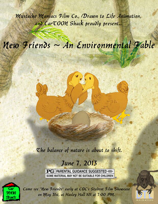 New Friends ~ An Environmental Fable | Mustache Maniacs Film Co