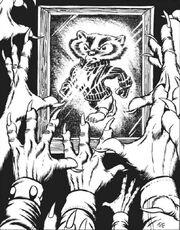 Badders Worshiping an Idle