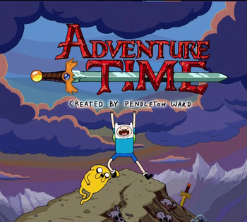Adventure Time Title