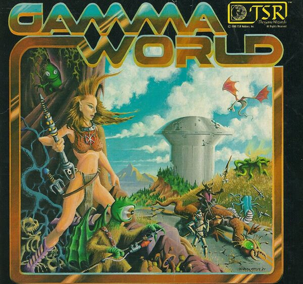 Gamma World Cover 1
