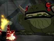 Heat Jaws vs. Mutant Frog