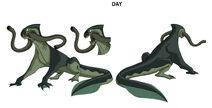 Ben 10 lake monster design by devilpig