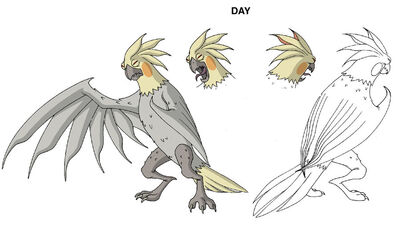 Ben 10 Mutant Parrot design by Devilpig