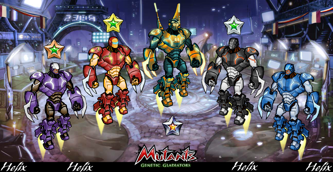 Mutants Genetic Gladiators astuce et triche