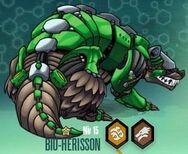 Bronze Bio-Hedgehog
