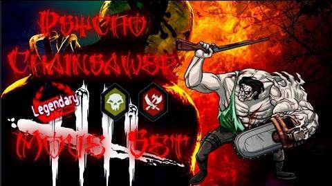 MGG - Psycho Chainsawer (Move Set)