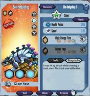 Silver-bio-hedgehog