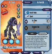 Dr Frost Basic Stats