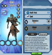 Queen Sylvidra stats