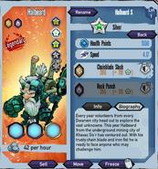 Silver-halbeard
