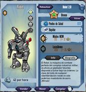 Robot - Bronce