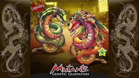 - 791 CROSSBREEDING QUETZALCOATL (LEGENDARY MUTANT)