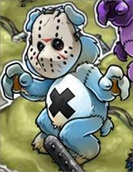 Silver Scare Bear