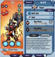 Thor Platinum stats