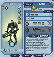 Bronze-dead-bot