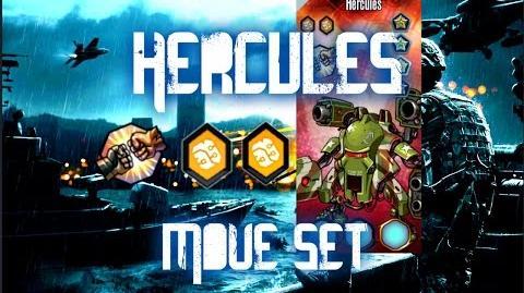 MGG - Hercules (Move Set)