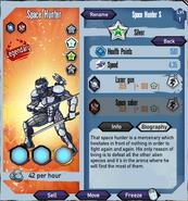 Silver-space-hunter
