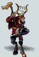 Gold-Satyr-Shaman