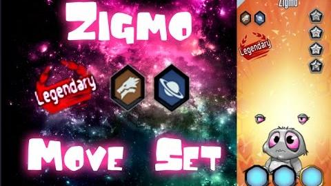 MGG - Zigmo (Move Set)