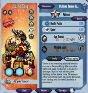 Platinum Cosmo Kong