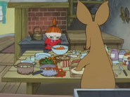 Nipsu ja Myy kokkaavat