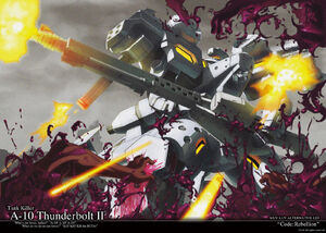 Muv-Luv Alternative - A-10 Thunderbolt II
