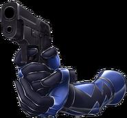 Hibiki Pistol Cutout