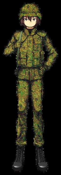 Hibiki Chronicles 04 Combat Uniform