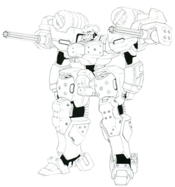 A-10 lineart
