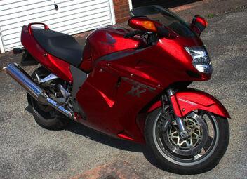 Honda Cbr1100xx Blackbird Motorcycle Wiki Fandom Powered By Wikia
