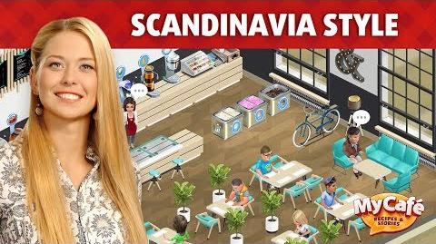 My Cafe in Scandinavia Style