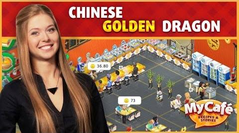 My Cafe Chinese Style Golden Dragon