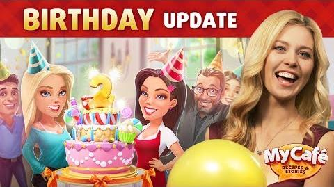 My Cafe Game Birthday Update 2018