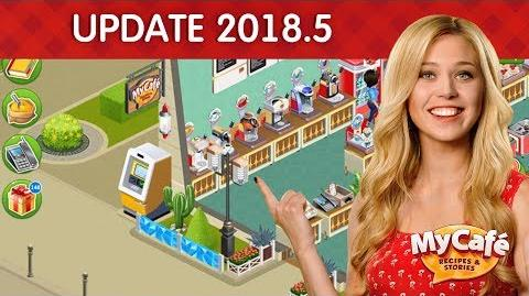 My Cafe Update 2018.5 Announcement Exteriors