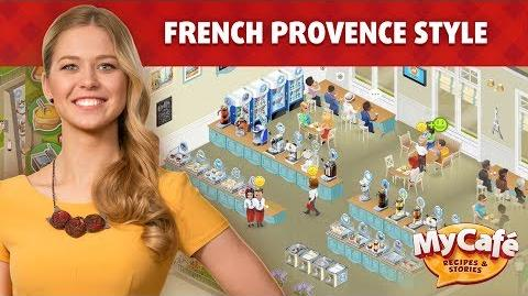 My Cafe in Provence Style