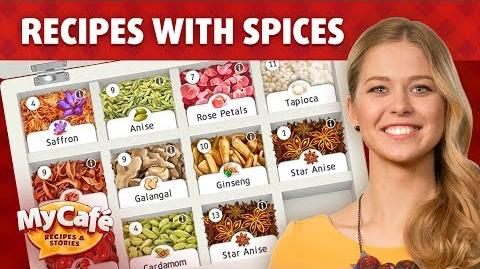 Spices and Special Orders in My Cafe Recipes and Stories Game