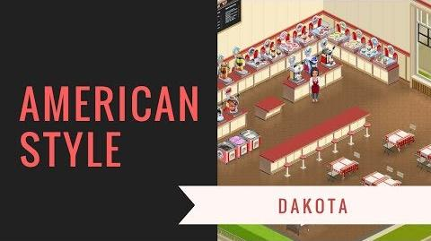 Deco-video American Dakota substyle