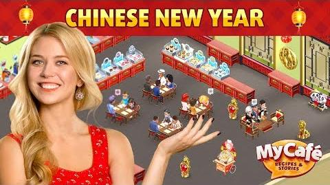 Chinese New Year in My Cafe