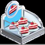 Raspberry Cake Case