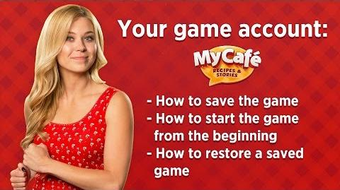My Cafe How to Save Game Progress? Let's Play!
