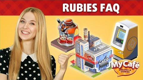 My Cafe Rubies FAQ